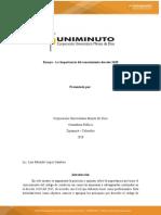 Auditoria 1 Ensayo Decreto 2420