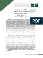 Del Percio - Motivaciones Políticas y Sociales Del Renovado Interés Por La Filosofía de La Liberación y Otras Concepciones Afines