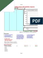 Calibration Drifting Quadratic