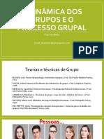 1+a+Dinâmica+Dos+Grupos+e+o+Processo+Grupal
