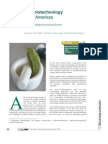 Agrobiotechnology in the AMERICAS