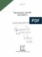 Filosofía Arabe Islamica -Luis Xavier
