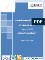 Programme SALOHI