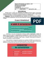 EXERCICIO 1 DE MATEMÁTICA 2ª EJA = 2º BIMESTRE