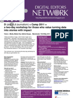 DJCamp2011 Flyer