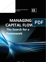 MANAGING CAPITAL FLOWS the search for a framework