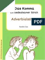 Leseprobe Das Komma - Adverbialsätze