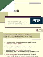Situación e técnicas de producción na denominación Viños da Terra de Cantabria