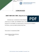NBR 5361 - Disjuntores de baixa tensao