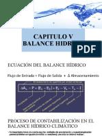 05 CAPITULO V Balance hídrico
