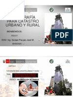 Quinta Clase de Topografia Para Catastro Urbano y Rural
