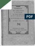 Cartas de Abelardo y Heloísa (De Toxar)