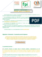 FPI n° 4 du 10 mars 2011