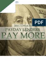 CREW Payday Lenders Report 2011
