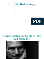Future Challenges for Steve Jobs and Apple Inc