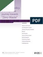 Toward Zero Waste Recycling Handbook