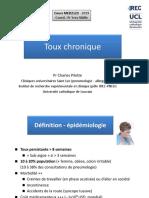 xMED2123 Toux chronique - Pilette 2019