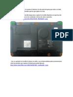 Abrir netbook Acer One