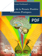 Le Pouvoir de La Pensée Positive _ Citations Pratiques (French Edition)