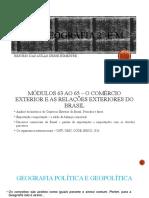 Aula Geo - Móds. 63 ao 67 Outubro 2020 (2ºE.M.)