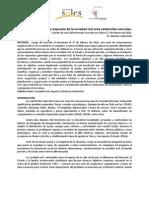 sociedad civil y terremoto en chile