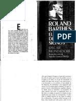 BARTHES Roland - El Imperio de Los Signos
