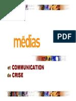 Communication de Crise et Médias (1)