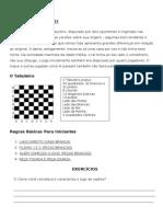 Apostila xadrez 7 ano