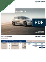 Hyundai IONIQ 5 Listino Prezzi