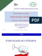 CM Toxico Géné L3 2021(Éthanol)