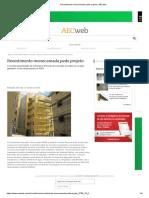 Revestimento Monocamada Pede Projeto _ AECweb