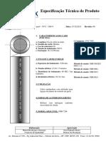 5601209 - Cabo de Comando 12x1,00mm² 70ºC 500V NU