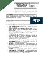 Procedimiento control de documentos y registros