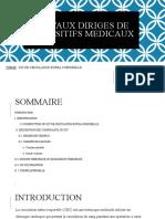 Travaux Diriges de Dispositifs Medicaux
