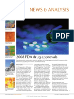 2008 FDA Drug Approvals