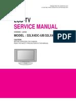 LG 32LX4DC_LCD TV Service Manual