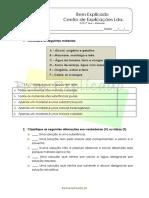 B.1 – Materiais- Teste Diagnóstico (2)