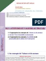 Egts5 Soft Skills Sq3 Attitudes Et Valeurs Au Travail