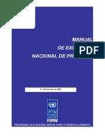 Manual de Execução Nacional de Projetos- pnud