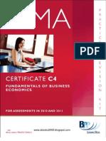149545335-CIMA-Certificate-Paper-C4-Fundamentals-of-Business-Economics-Practice-Revision