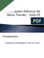 Instalações Elétricas De Baixa Tensão – Aula 05