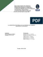 Informe Tema I La Administración Pública