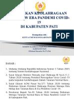 KEBIAJAKAN KEOLAHRAGAAN DINEW ERA PANDEMI COVID-19