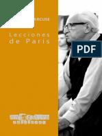 Marcuse, Herbert (2021) - Lecciones de París