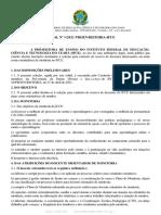 Edital 1 2021 Monitoria Selecao Docente