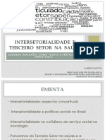Intersetorialidade e Terceiro Setor na saúde - AULA CEMO 2021 (1)