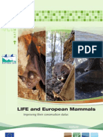 LIFE and European Mammals