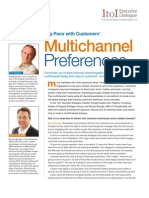 Keeping Pace With Customers Multichannel Preferences