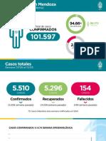 Informe Situacion Epidemiologica Mendoza Mayo 2021