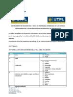 Cuestionario Diagnostico Proyecto Vinculacion